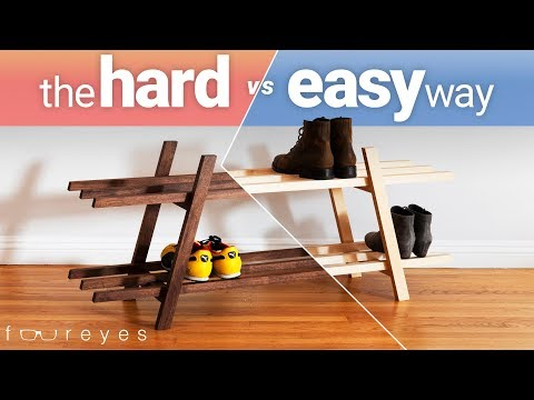 How To Build A Shoe Bench | Woodworking DIY