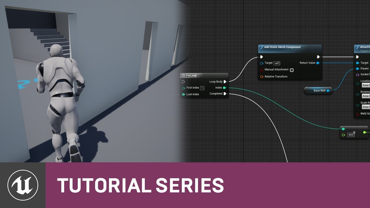 Blueprint essentials using loops level design 10 v42 blueprint essentials using loops level design 10 v42 tutorial series unreal engine malvernweather Images