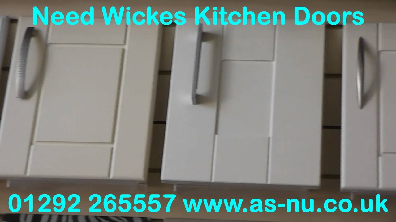Wickes Kitchen Doors and Wickes Kitchens - YouTube