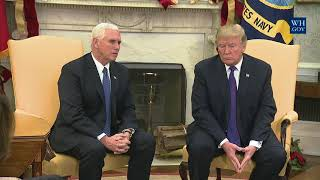 President Trump Meets with Congressional Leadership
