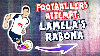 Lamela's Rabona! 🤯 Footballers Attempt Ft... Feat Ronaldo Messi Kane +more! (Arsenal vs Spurs 2-1)