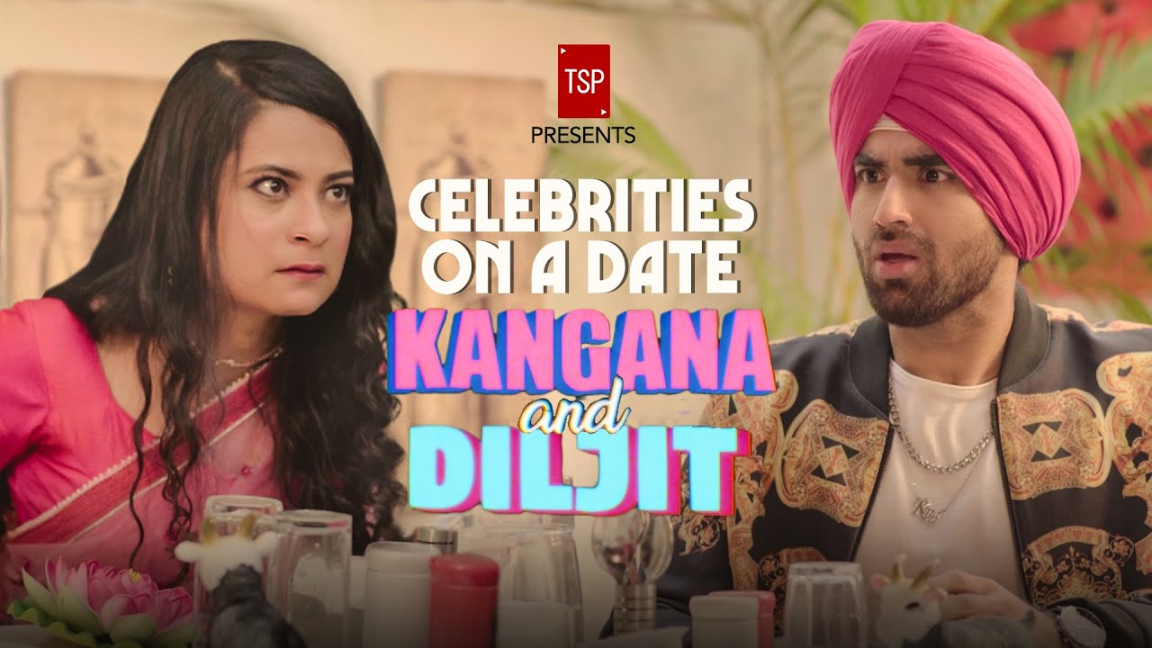 TSP's Kangana and Diljit on a Date