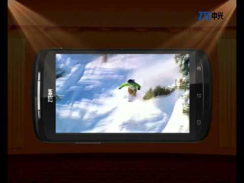 ZTE SKATE 4.3 VIDEO