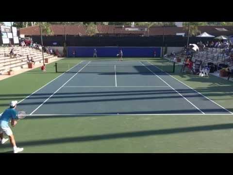 03 28 2015 Novikov Vs McDonald Calabasa Singles Semi Finals 4K