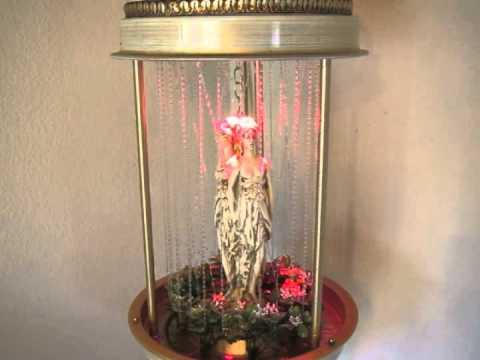 70s Rain Lamp With Color Change Lightbulb
