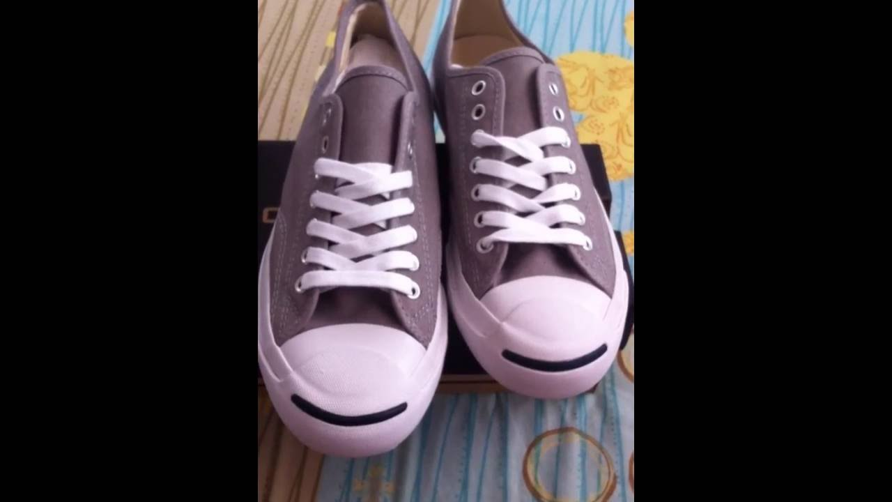 cc41d7f8cac1d7 Jack Purcell Classic Ox Gray รีวิว Top mirror - YouTube