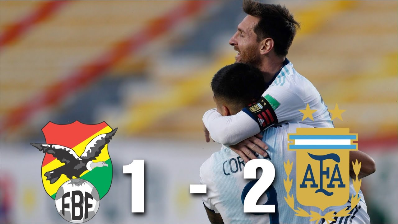 Bolivia vs Argentina [1-2], World Cup Qualifying 2020 - MATCH REVIEW