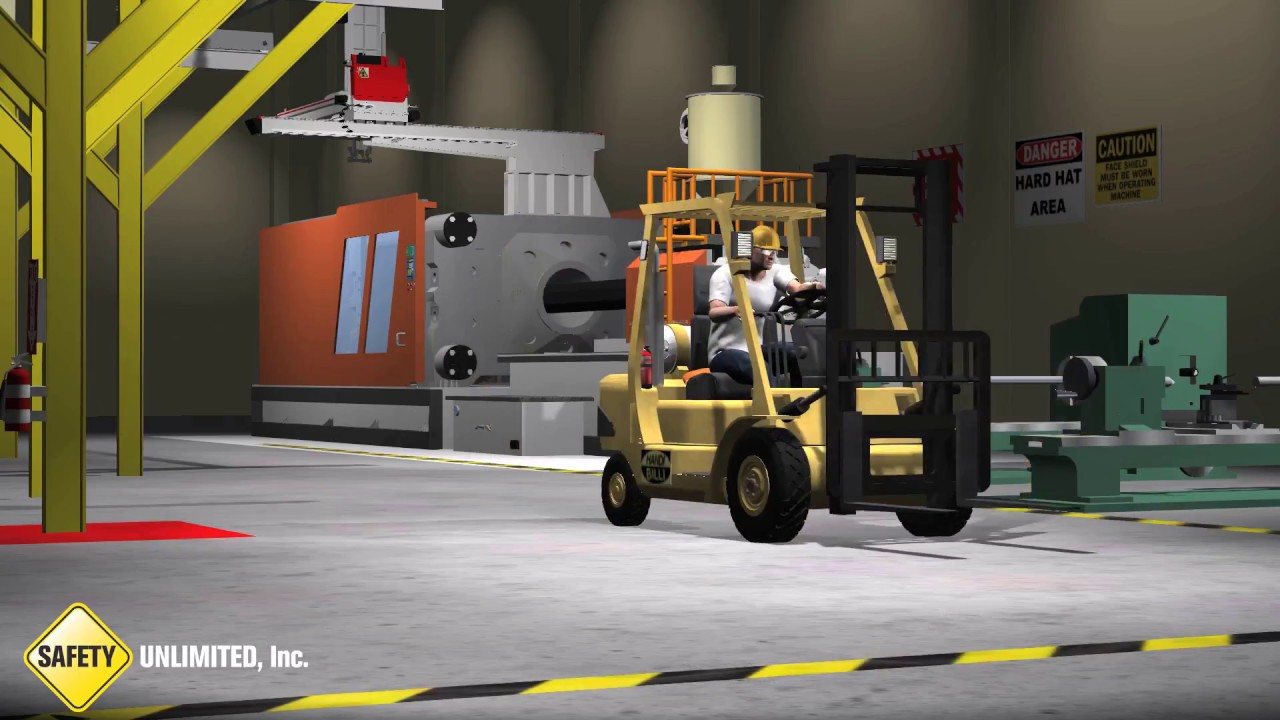 Wearing A Seatbelt In A Forklift May Save Your Life Youtube