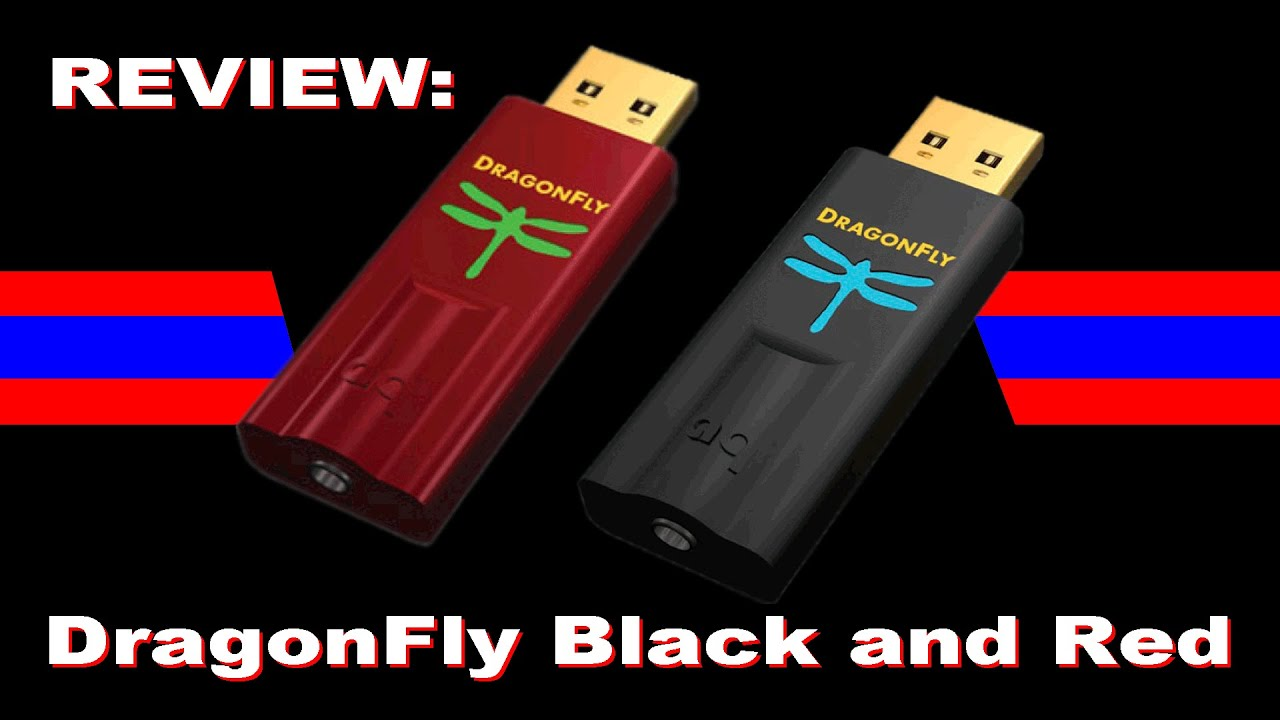 Review: Audioquest Dragonfly Black 1 5 and Red