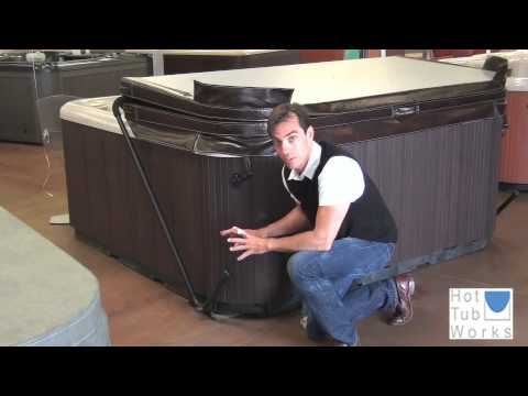 Hot Tub Cover Lifts - What is the Cover Rock-It? - YouTube