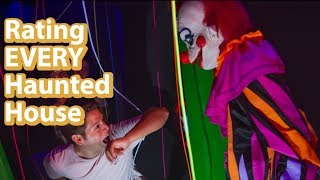 2019 HHN House Ratings | Every House Reviewed Halloween Horror Nights 2019