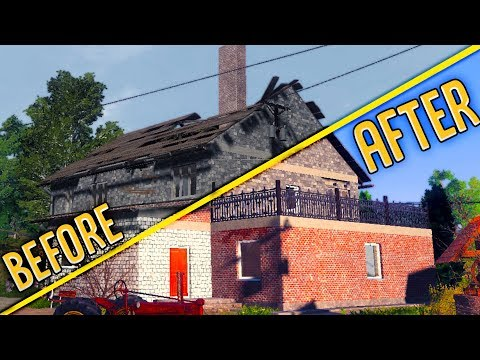 Huge Farm Renovation! - House Flipper Meets Farming Simulator - Farmers Dynasty Gameplay