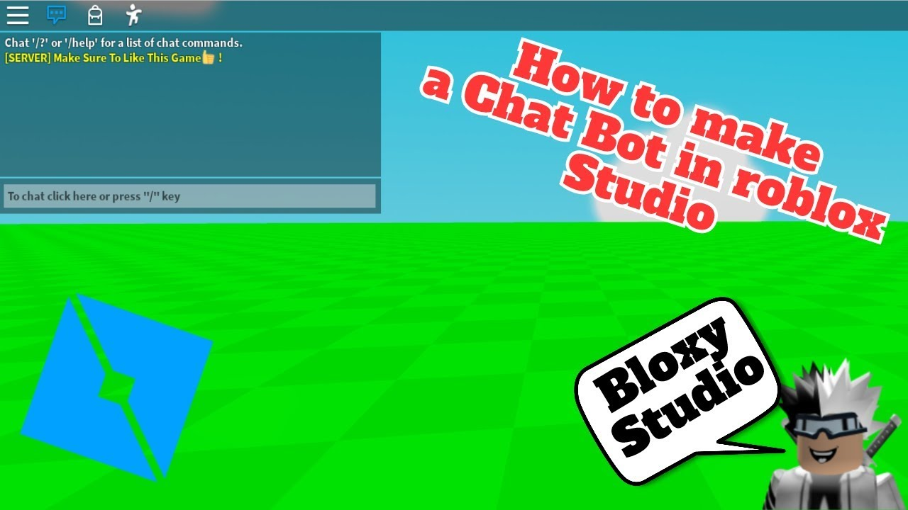 How To Make A Chat Bot On Roblox Studio Youtube