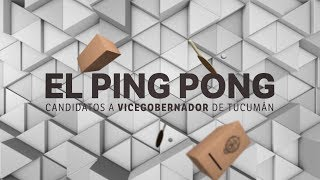 Ping pong de preguntas a los candidatos a vicegobernador de Tucumán.Parte 1