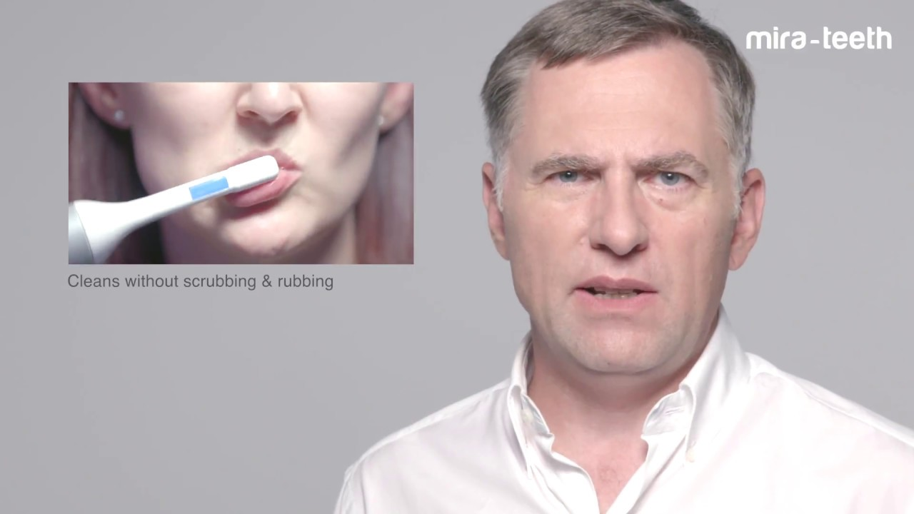 Mira-Teeth – The Ultrasound Toothbrush is superior for oral hygiene