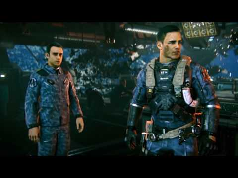 Call of Duty Infinite Warfare Walkthrough 60fps : Mission 3 Land on Retribution Operation Port Armor