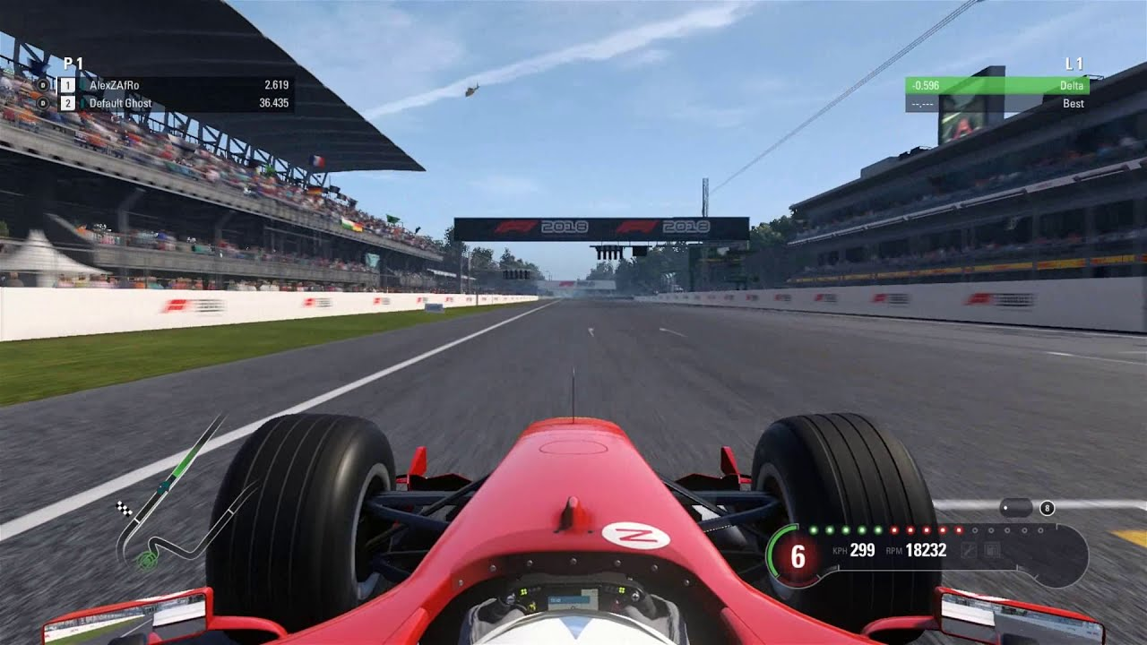 F1 2018 Top Speed Test - Which Classic Car Is The Fastest?  Alexzafro 14:31  HD