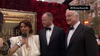 Interview on the Red Carpet with Come From Away | Olivier Awards with Mastercard