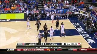 Missouri vs #1 Florida (3/14/2014) - SEC Tournament Quarterfinal