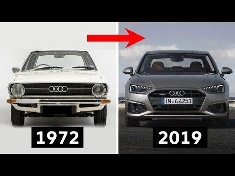 Audi A4 Evolution [1972-2019]
