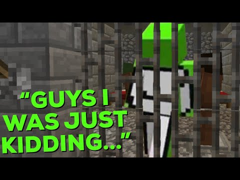 Dream gets put in PRISON on his own SMP (Dream SMP)