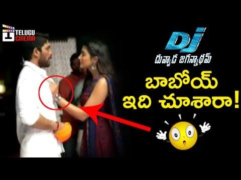 DJ Duvvada Jagannadham Fun on Sets | Allu Arjun | Pooja Hegde | Harish Shankar | DSP | DJ Making