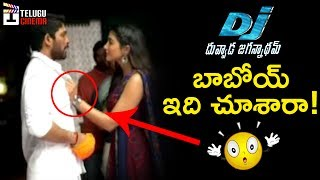 DJ Duvvada Jagannadham Fun on Sets | Allu Arjun | Pooja Hegde | Harish Shankar | DSP | DJ Making