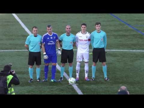 Segunda B 2016-17. Los goles del Arenas Club 3 - Albacete 1