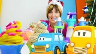 Сборник Play Doh #ПлейДо видео для детей с Умными машинками и #КапукиКануки Машей