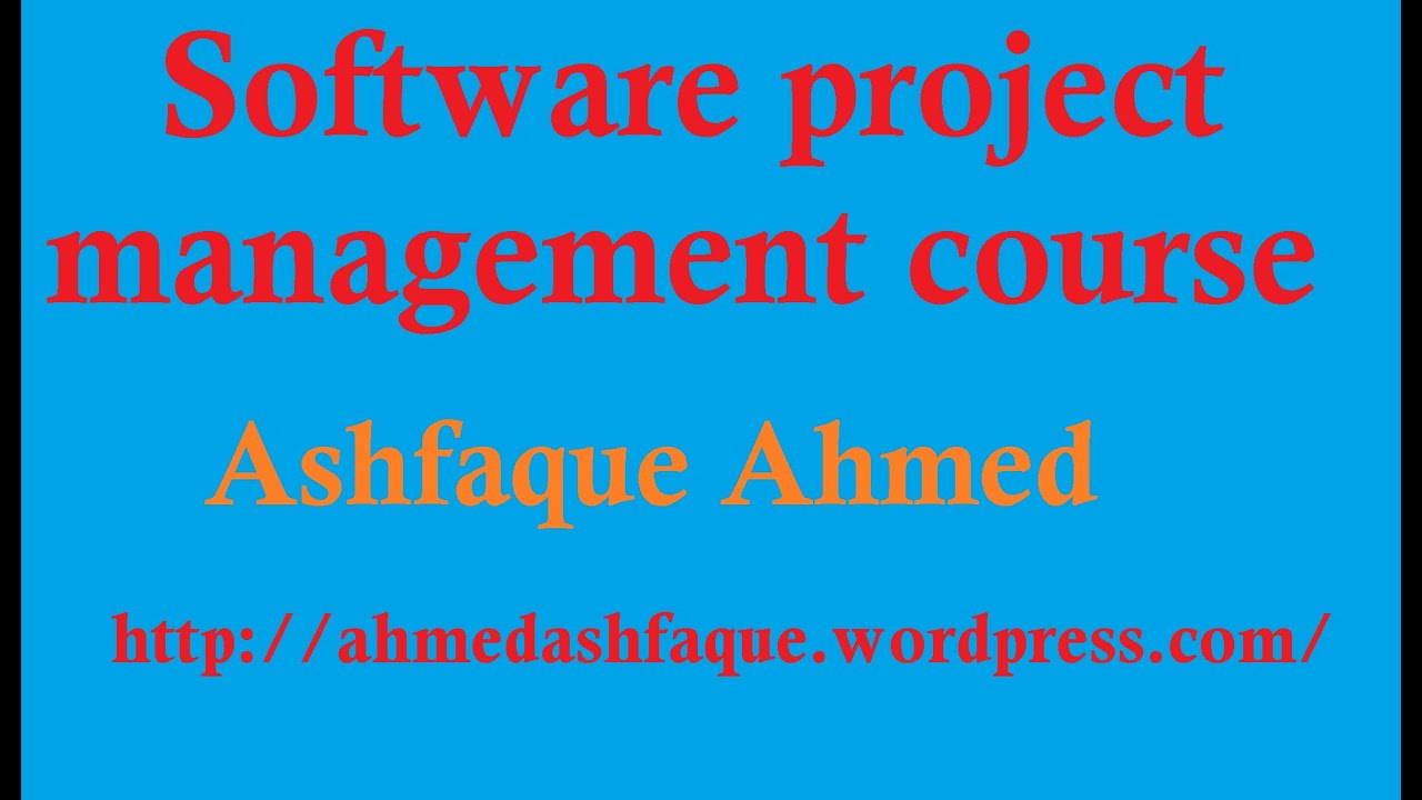 A course in software project management - part #11