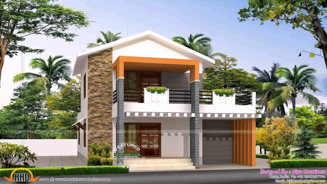 House design 1200 square feet youtube for Beach rest house design
