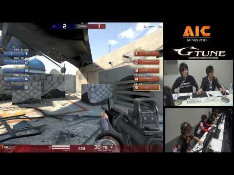 AIC 2013 - Astrick [Korea] vs ahq_e-SportsClub [Taiwan] (set1)