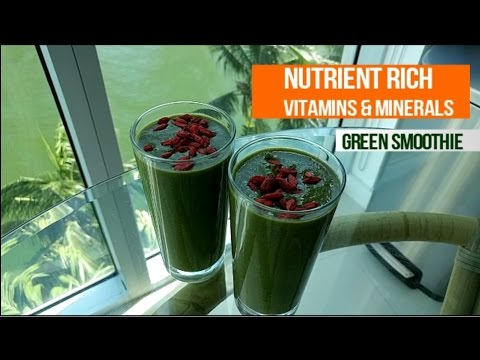 Green Smoothie Recipe – Delicious Healthy Nutrient Rich!