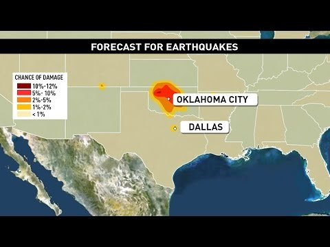 Fracking-induced earthquakes rock central Oklahoma again