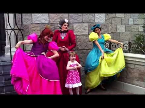 Walt Disney World Lady Tremaine Drizella And Anastasia Meet And Greet