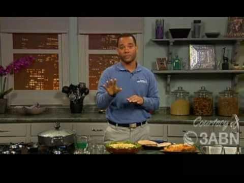3ABN: Fiesta Zucchini Pasta, Flaky Brown Rice Recipe Video.
