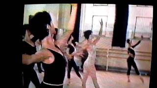 """Royal Ballet Company Class Taught by Terry Westmoreland on Fonteyn Documentary """"The Magic of Dance"""""""