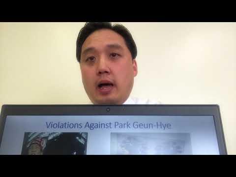Human Rights Violations Against Park Geun-Hye