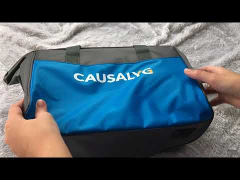 Unboxing Causalyg Electric Car Cooler and Heater for Food
