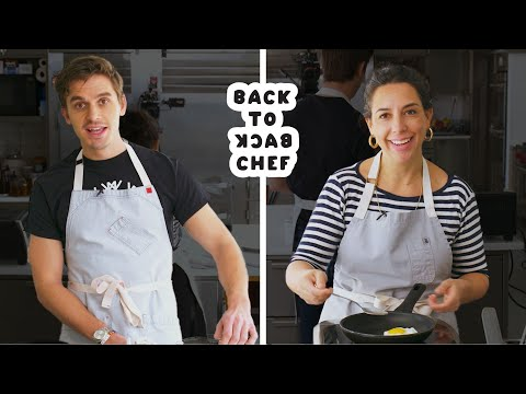 Queer Eye's Antoni Porowski Tries To Keep Up With A Professional Chef | Back-to-Back Chef