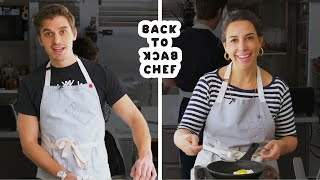 Queer Eye\'s Antoni Porowski Tries to Keep Up with a Professional Chef | Back-to-Back Chef