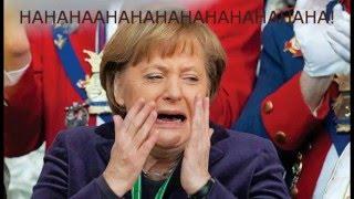 Die eine die immer lacht / Merkel