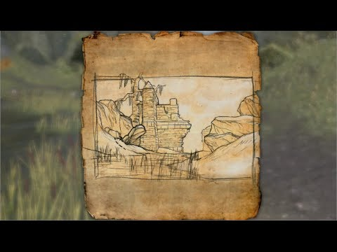 Shadowfen Treasure Map VI Location Elder Scrolls Online - YouTube