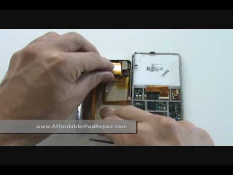 Tutorial - iPod Video 5th Generation Gen Complete Disassembly For Repair