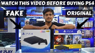FAKE VS ORIGINAL PLAYSTATION 4 😱- KAROL BAGH, DELHI 2018