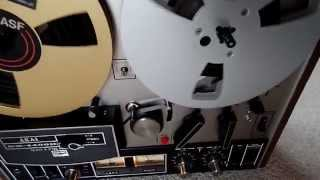 Bose Soundlink Mini meets Akai GX 4400 D reel to reel tape recorder