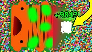HOW TO GET 9999+ POINTS PER SECOND?! (Overpowered Poison Ability) (Creatur.io New update)