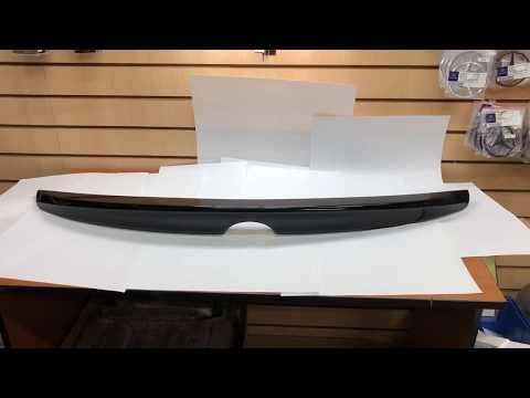 Спойлер на багажник для Toyota Camry VII XV50 (2011-2017) черный