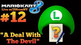 """""""A Deal With The Devil""""   Mario Kart 8 Live #12   Mario Kart 8 (MK8) Online Multiplayer Gameplay"""