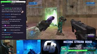 Halo 2 MP w/ Mr. Feel & viewers